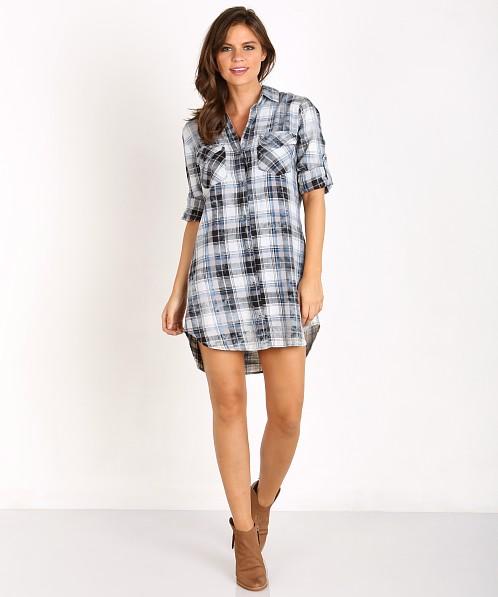 adf32f4e4a Bella Dahl Patch Pocket Shirt Dress Cloud Wash B6715-831 - Free Shipping at  Largo Drive