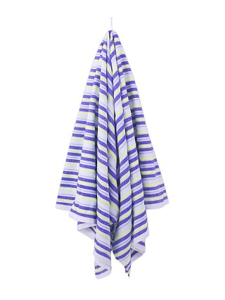 Las Bayadas La Sofia Towel Blue White Yellow