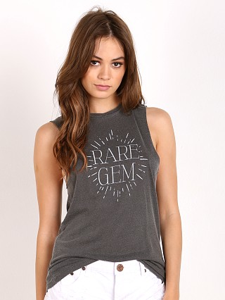 Daydreamer Rare Gem Muscle Tank Faded Black