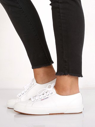 Superga Classic Leather White