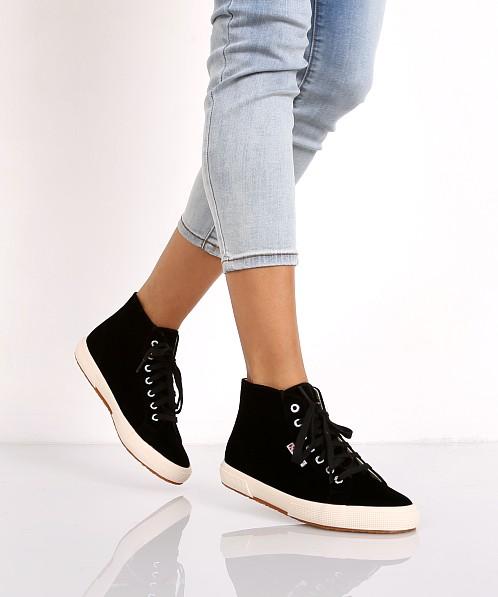 Velvet Sneaker High Black Superga Top wXPkN8n0O