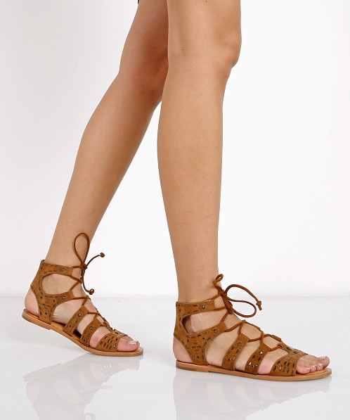 Dolce Vita Jazzy Sandal Dark Saddle