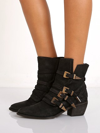 Free People Mason Western Boot Black