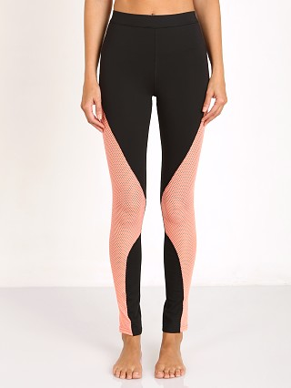 MinkPink Five Mile Mesh Legging Black/Neon