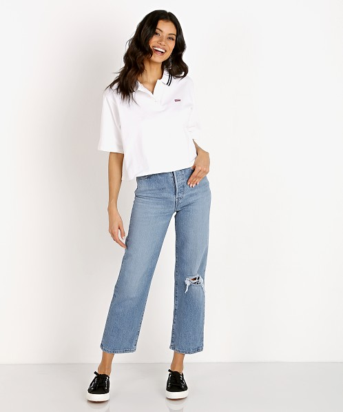 Levi's Lila Polo White