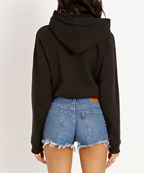 Levi's Cinched Hoodie Colorblock Mineral Black/White