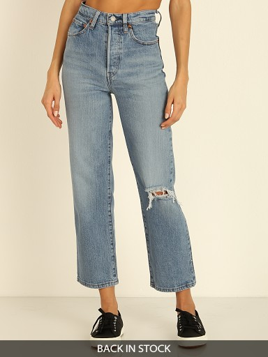 Levi's Ribcage Super High Rise Jeans Haters Gonna Hate