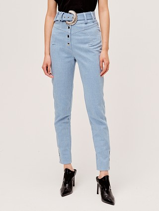 For Love & Lemons Josephine High Waist Pant Denim