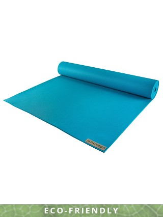 JadeYoga Harmony Yoga Mat Electric Blue