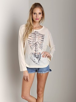 Wildfox Couture Daisy Bones Beach House Tee Champagne