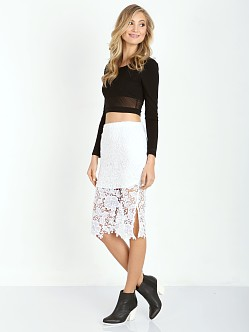 Wyldr Deal Breaker Skirt White