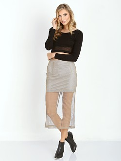Wyldr Wild Skirt Gold