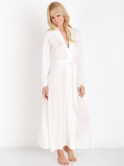 Only Hearts Venice Long Robe White