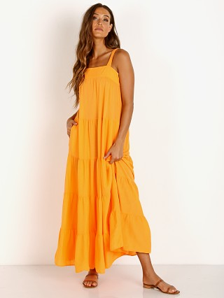 9seed Sayulita Tier Dress Mandarin