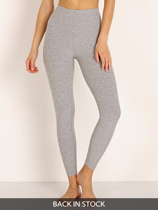 Beyond Yoga Spacedye Midi High Waisted Legging Silver Mist