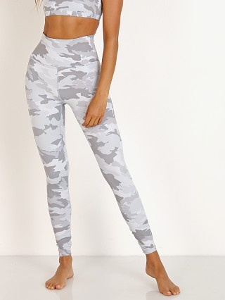 Beyond Yoga Olympus High Waisted Midi Legging Gray Camo