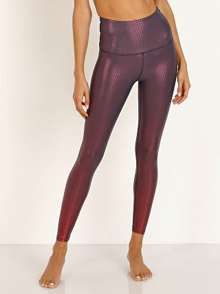 Beyond Yoga Spot on High Waisted Midi Legging Team Burgundy