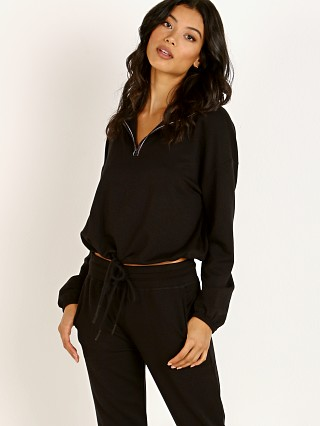 Complete the look: Beyond Yoga By Request Cozy Fleece Cropped Pullover Black