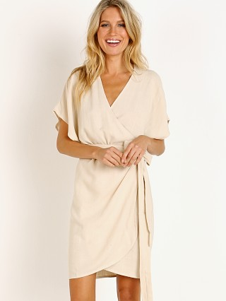 You may also like: Indah Alexa Stone Wash Wrap Dress Opal