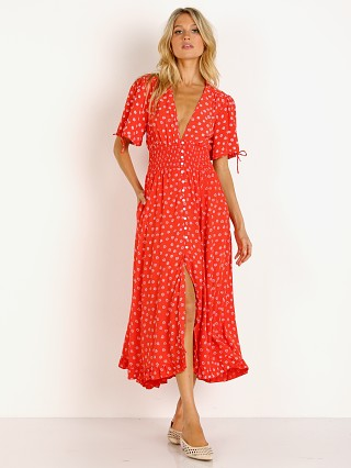 Cleobella Olivia Dress Salsa Print