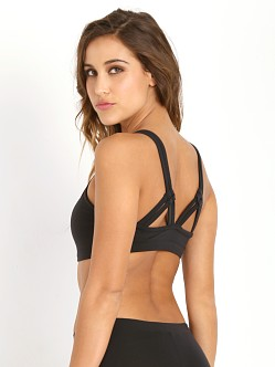 SOLOW Multi Strap Sports Bra Black