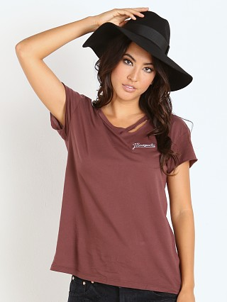 Beach Riot Mamasita Ripped Tee Crimson