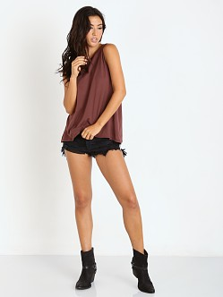 Beach Riot More Tequila Muscle Tee Crimson