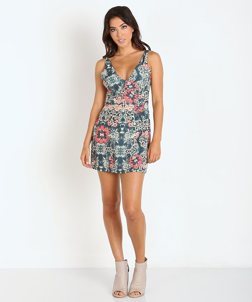 Beach Riot Costa Chica Dress Azul