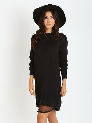 Beach Riot Mamacita Sweater Dress Black