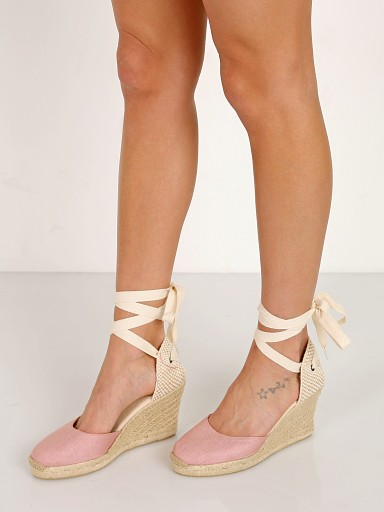 Soludos Tall Wedge Dusty Rose