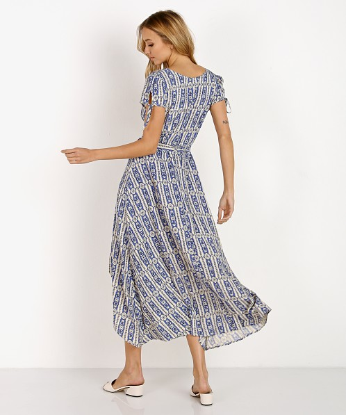 Cleobella Almudena Dress Java Azure