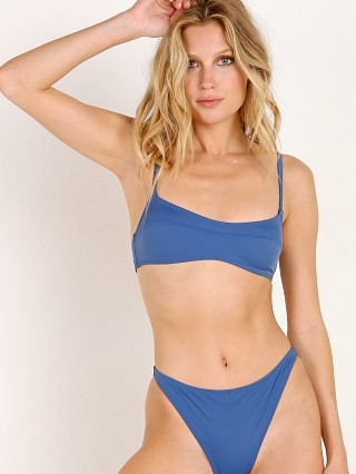 Solid & Striped x SWIM TEAM The Elsa Bikini Top Slate