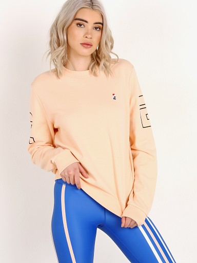 PE NATION Moneyball Sweatshirt Nude
