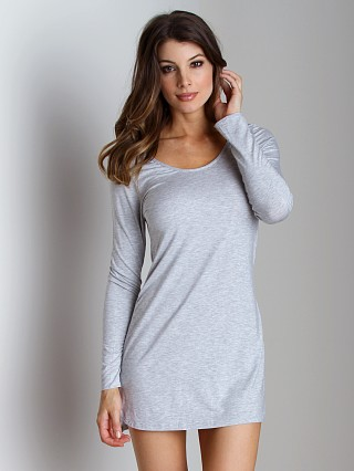 Splendid Intimates Essentials Long Chemise Heather Grey