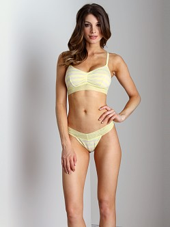 Splendid Intimates Fruit Fusion Bralette Lemon Yellow