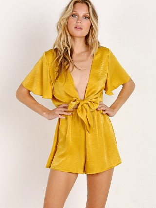 You may also like: Show Me Your Mumu Gia Romper Mustard