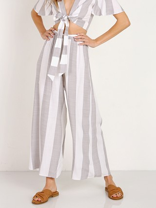 Show Me Your Mumu Explorer Pants Grey Bengal Stripe