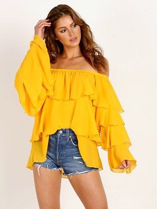 You may also like: Show Me Your Mumu Chi Chi Top Marigold Chiffon