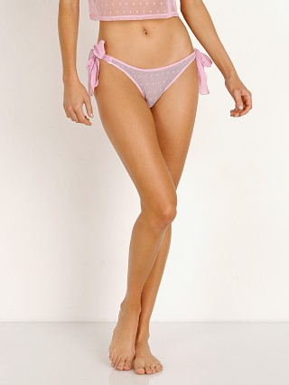 Only Hearts Coucou Lola Tie Bikini Pink Paradise
