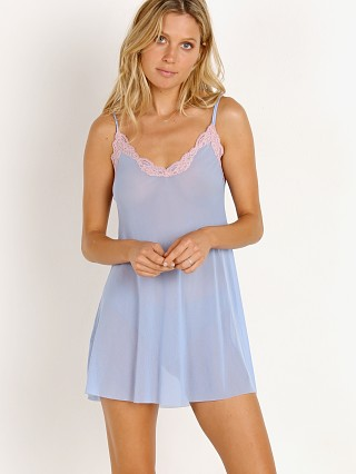 Only Hearts Tulle with Lace Chemise Blue Rose