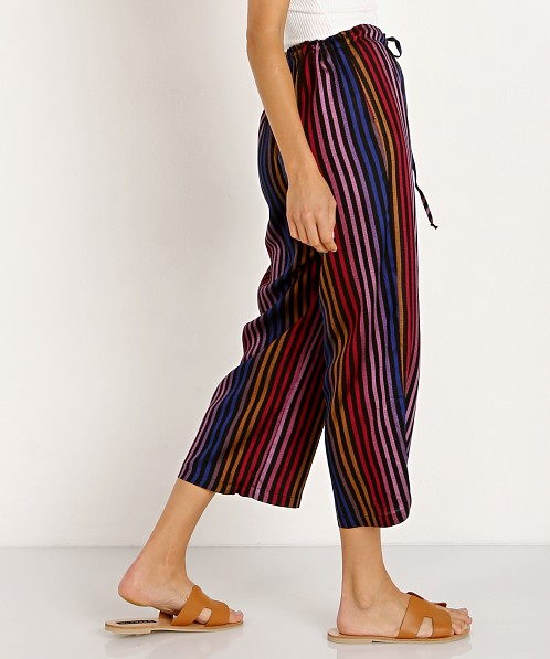 Only Hearts Riley Pant Rainbow Stripe