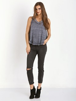Free People Breezy Tank Navy
