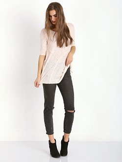 Free People Weekends Layering Tee Tea Combo