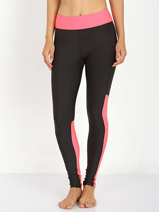 Under Armour Heatgear Alpha Compression Legging Black/Pink Shock