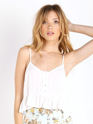 Somedays Lovin Road Trip Crop Cami White