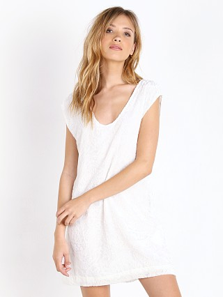 Somedays Lovin Solar Burnout Dress White