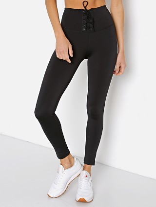 Model in black Splits59 Glenda High Waist Techflex Full Length Legging