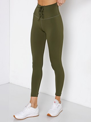 Model in army Splits59 Glenda High Waist Techflex Full Length Legging