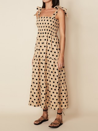 You may also like: Faithfull the Brand Rianne Midi Dress Biscuit Dot
