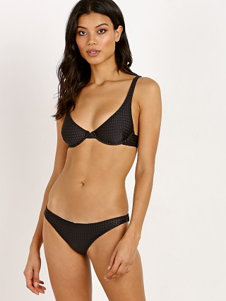 Acacia Mesh Geneva Bikini Top Black Beauty